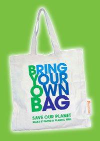 Bring your own bag (Courtesy  www.sunwaypyramid.com)