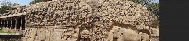 Arjuna's penance cave