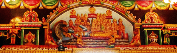 wall sculpture insidepadmanabhan  temple