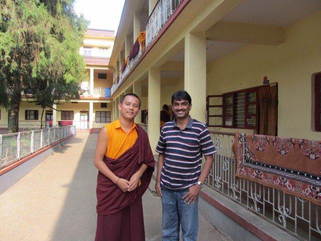An Obliging Monk