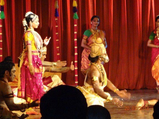 Meenakshi Vijayam dance drama
