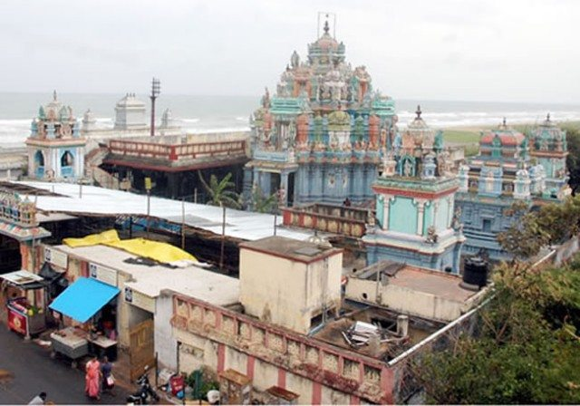temple view from roadside courtesy google image