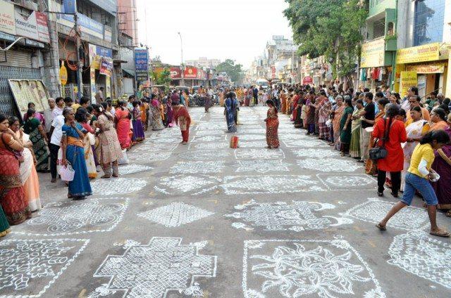 Kolam contest