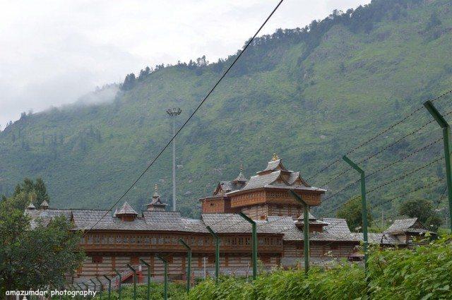 Sarahan Temple View