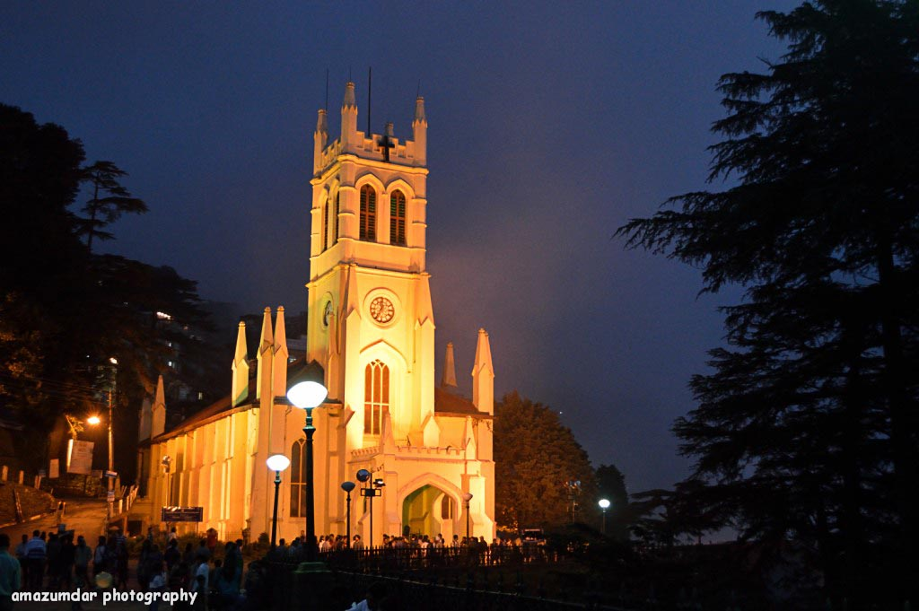 Shimla Church Ghumakkar Inspiring Travel Experiences