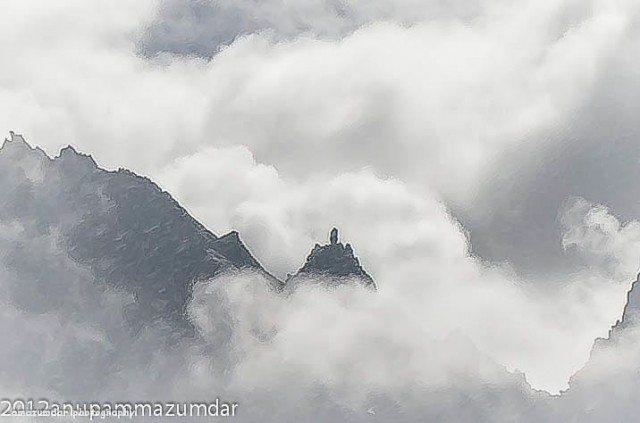 Shivling at Kinnaur Kailash
