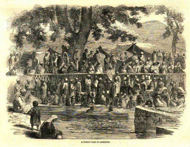 Kheer Bhawani - Kashmir Fair 1858