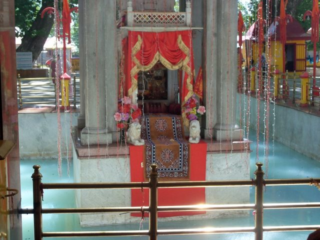 A view of the temple