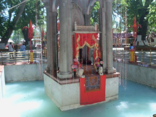 Another view of the revered temple