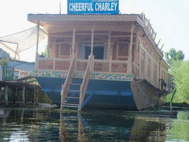Another houseboat (CHEERFUL CHARLEY)
