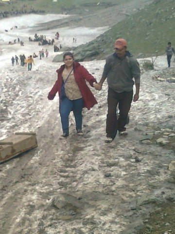 Bhakti going towards the point of sledging