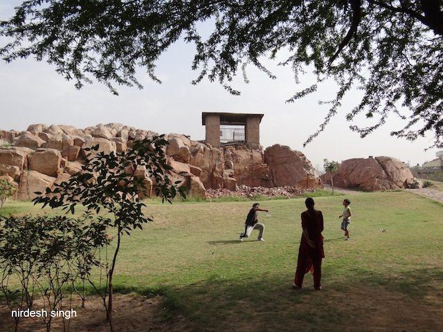 Ashok Rock Edict Garden