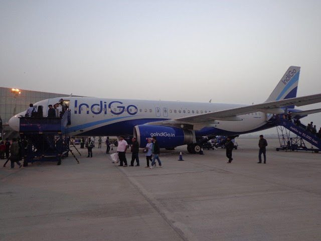 Jaipur Airport Pictures Aeroplane at Jaipur Airport