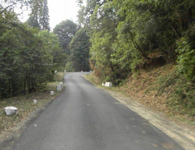 Way to Chopta