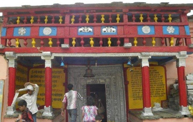 Temple gate - Narsingh and durga temple