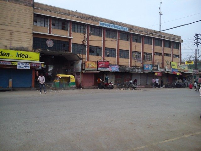 Gangwal Bus Stand at Indore  (for Dhar bound buses)
