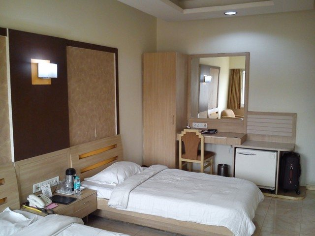 My room at Hotel President, RNT Marg, Indore