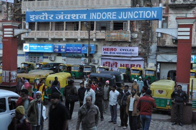 Exit from Platform towards Siyaganj (Broad Gauge side)