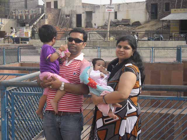 Family at Bhism Kund