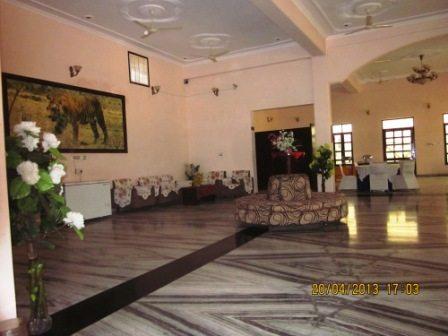 Gulmohar sariska resort from inside