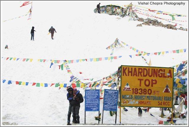Deepak & Surya enjoying at the Top