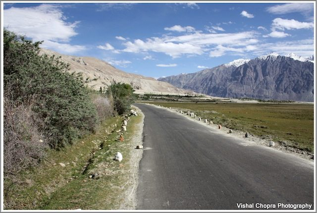 road back to Diskit