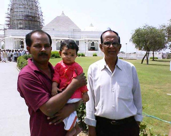 Three Generations, Birla Temple Jaipur