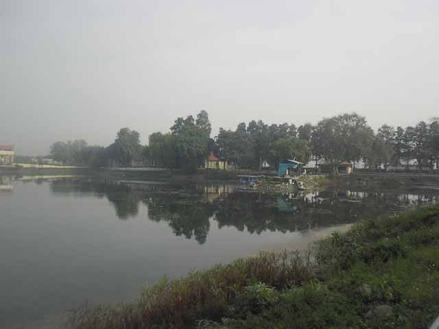 View of Karna Lake