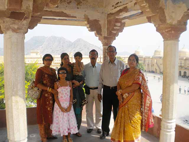 Visit to Amer fort with sister