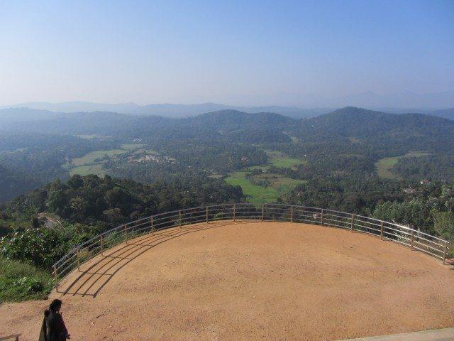 Fabulous Valley views at Raja seat