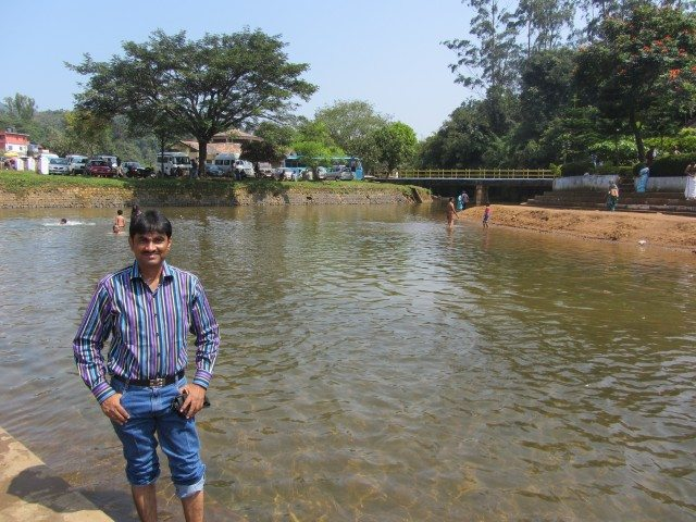 Crystal clear waters of Cauvery at Bhagamandala