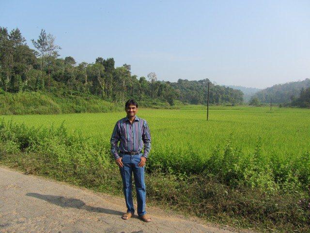 Abundant greenery on Madikeri-Talacauvery route