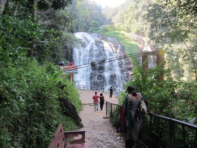 Reaching Abbey Falls