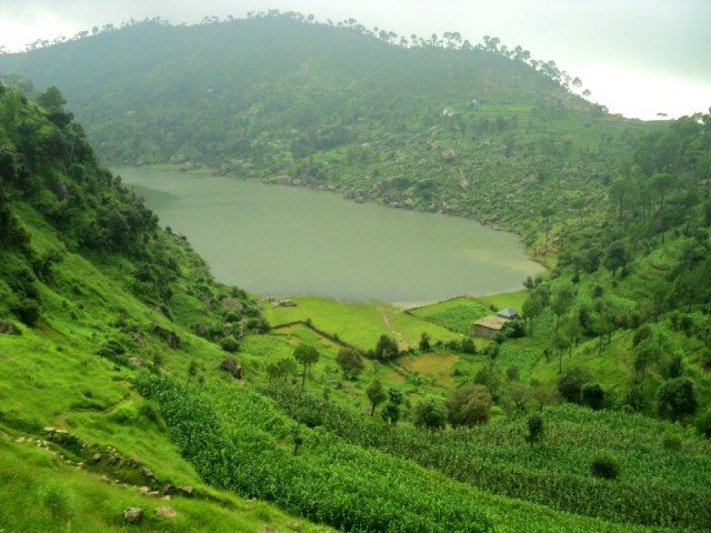 Kalasar, a heavenly lake near Rewalsar, Mandi