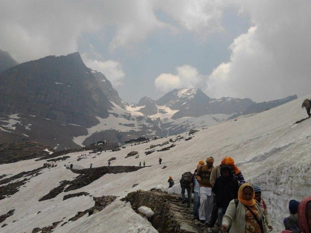 On the way to Sri Hemkund Sahib