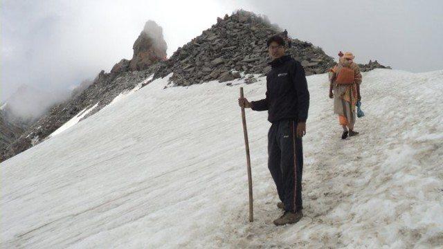 Nearing Srikhand Kailash