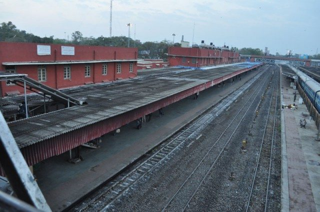 Platform No. 1 (Meter Gauge) at Indore Station