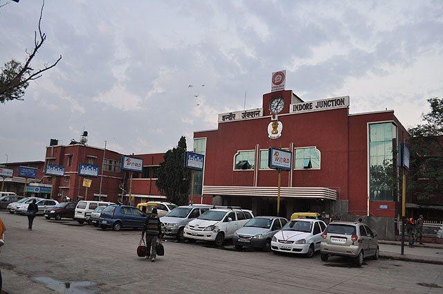 Entrance to Meter Gauge i.e. Platform No. 1 at Indore Station