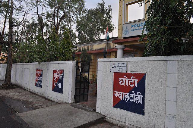 P.S. Gwaltoli outside Railway Station, Indore