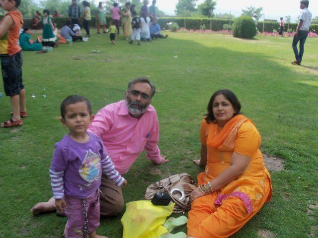 Resting at chashme shahi