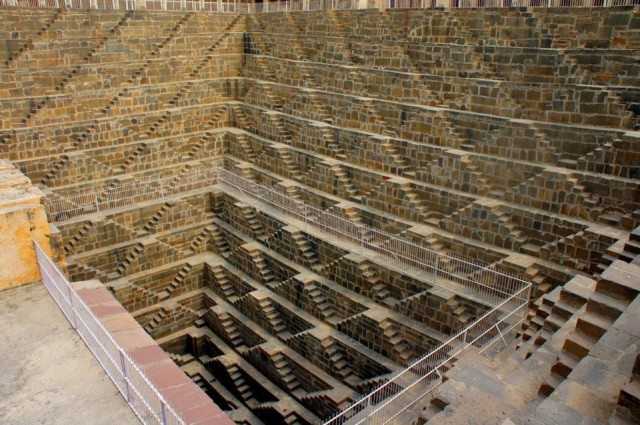 Chand Baori, Abhaneri, one of the most impressive stepwells I have seen so far