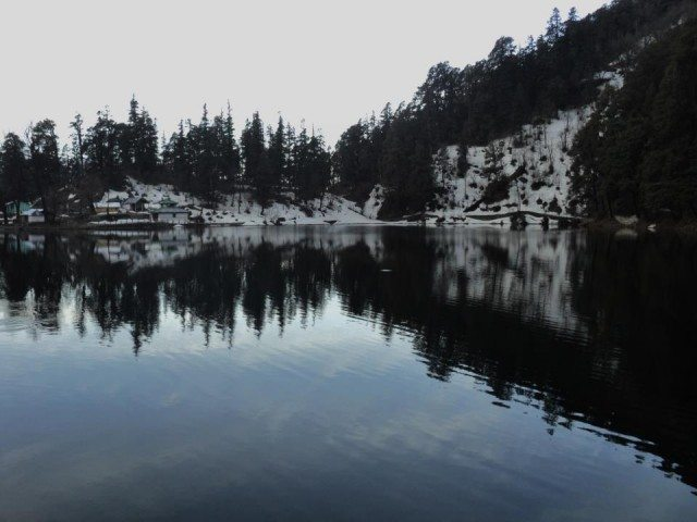 Dodital, a mesmerizing lake