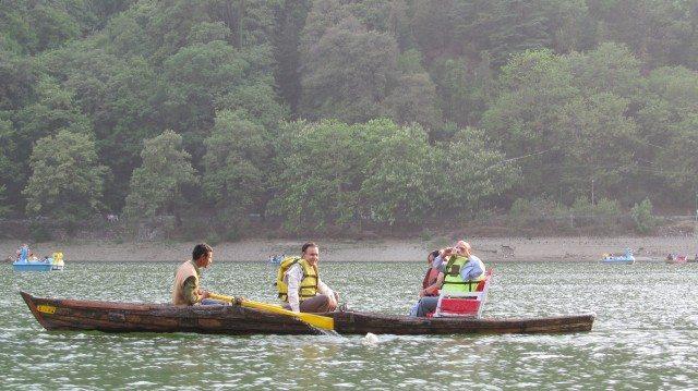 Boating at Naini Lake