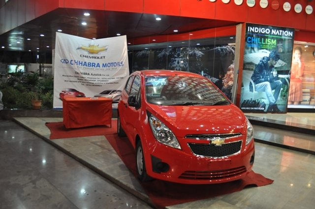Display of the Beat LT Car at the Central Mall