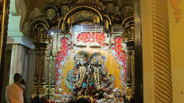 Krishan Balram at Iscon Temple -Vrindavan