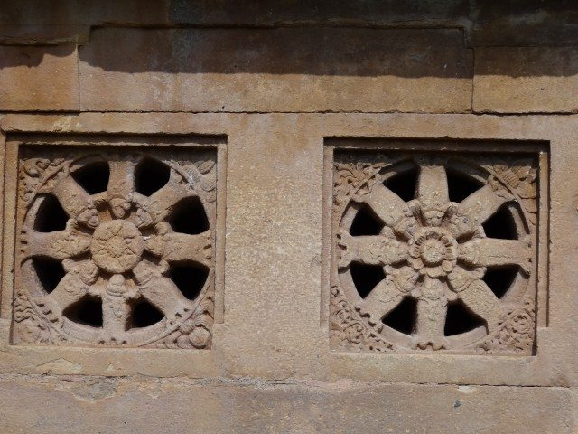 Lad Khan Temple - Latticed WIndows