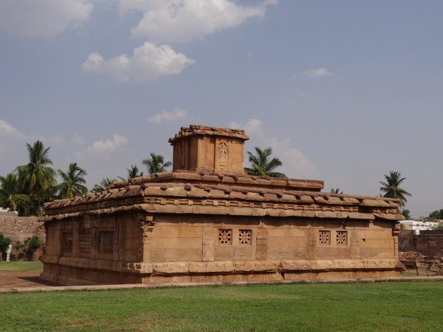Lad Khan Temple - Rear View