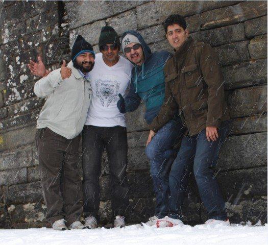Fantastic Four (Myself, Gaurav, Huzefa & Rahul).