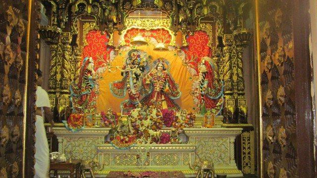 Radha Krishan at Iscon Temple -Vrindavan