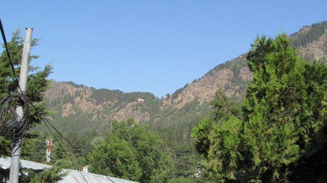 View from Circut House Nainital
